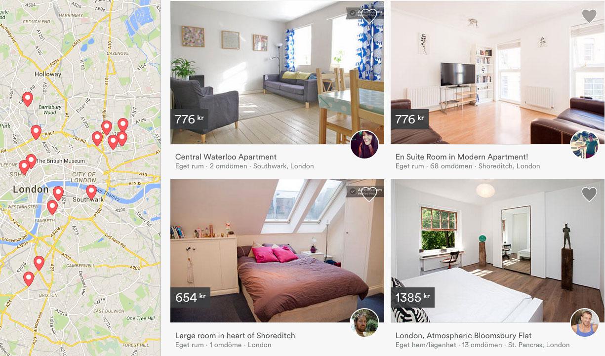 hyra lägenhet london