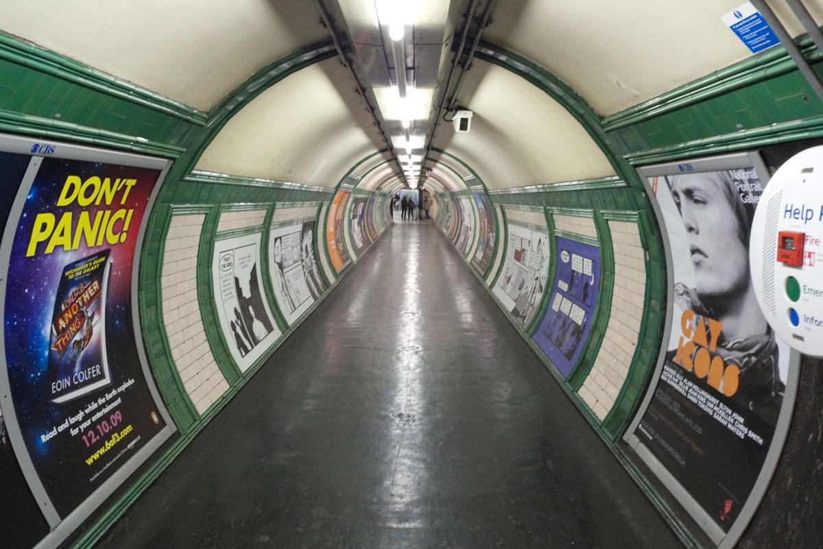 Kollektivtrafik tunnelbana london (Foto: Flickr/gcwest)
